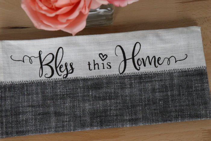 Tea Towel - Farmhouse, Bless This Home