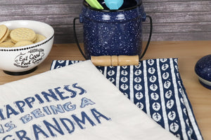 Kitchen Towel Set - Happiness, Grandma