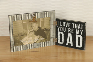 Hinged Photo Frame  - My Dad