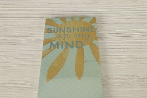 List Notepad - Sunshine