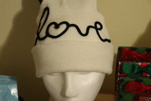 """Love"" Hat - Black"