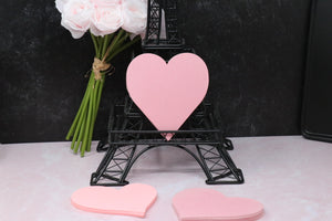 Heart Notepad - Pink