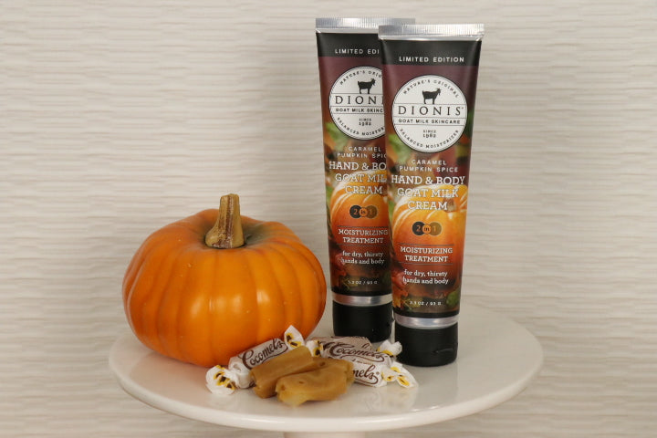 Hand & Body Cream, Caramel Pumpkin Spice, 3.3 oz.