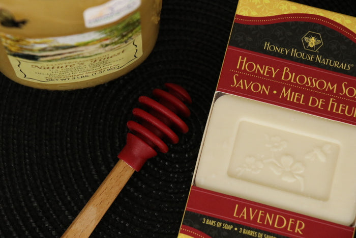 Honey Blossom Soap Bar, 3 Fragrances