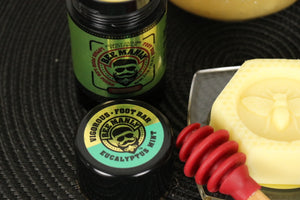 Bee Manly Lotion Foot Bar, 2 Fragrances