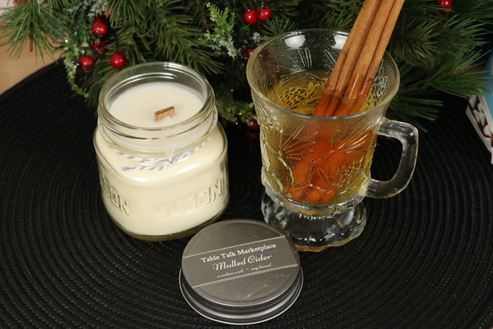 Wood Wick Jar Candle - Mulled Cider