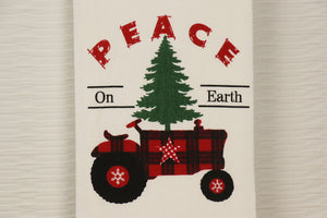Flour Sack Towel - Farmhouse Tractor