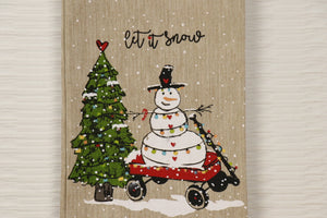 Let it Snow - Snowman Towel Series