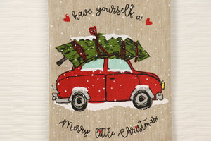 Have a Merry Little Christmas - Car Towel Series