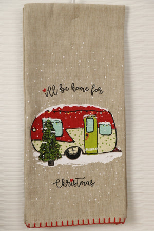 Home for Christmas - Camper Towel series