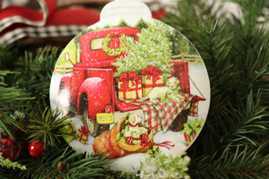 Christmas Ornament - Red Truck