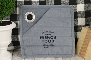 French COOK-Potholder