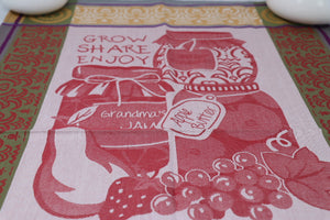 Tea Towel - Canning, Grow, Share, Enjoy