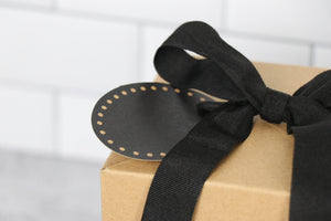 Gift Box Large - Black and Tan