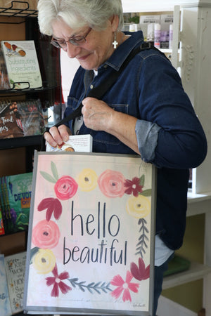 Tote Bag for Fall - Hello Beautiful