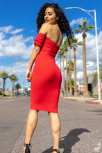 """Be Mine"" Red Dress - Klassy Kloset Boutique"