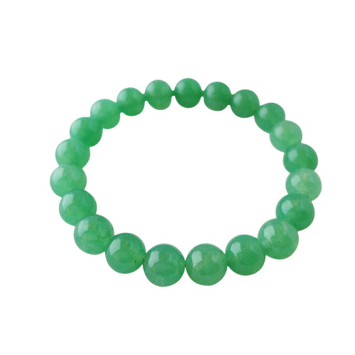 Attract Abundance ~ 8mm Green Aventurine Bracelet - Hippie Love Bracelets