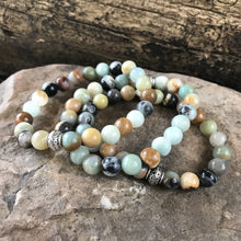 Black Gold Amazonite Bracelet - Hippie Love Bracelets