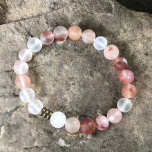 Blood Quartz - MATTE - Hippie Love Bracelets