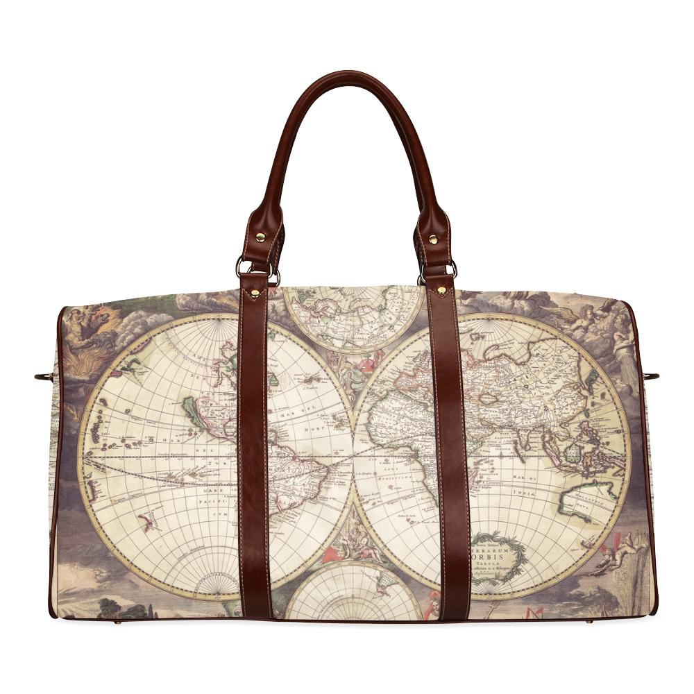 Old world map 2 waterproof travel bagsmall model 1639 gypsy park old world map 2 waterproof travel bagsmall model 1639 gumiabroncs Image collections