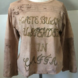 Hand Painted Kate Bush Suspended in Gaffa Shirt