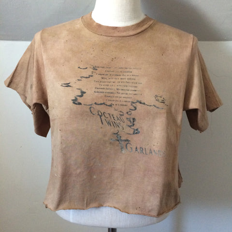 Naturally dyed Cocteau Twins Tshirt