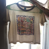 SHONEN KNIFE Handpainted shirt