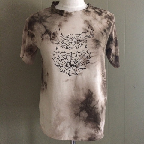 Liminal Love Handmade Naturally Dyed Tshirt Size Medium