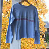 Long Sleeve Baby Blue Daydream Fantasy Too Surreal for this World top Medium