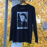 Vintage faded black long sleeve Cosey Fanni Tutti shirt XL