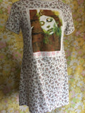 Vintage Basic Editions dress with Psych Cosey Fanni Tutti Patch size Med
