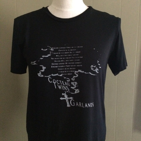 Cocteau Twins Black Medium Uniqlo Tshirt