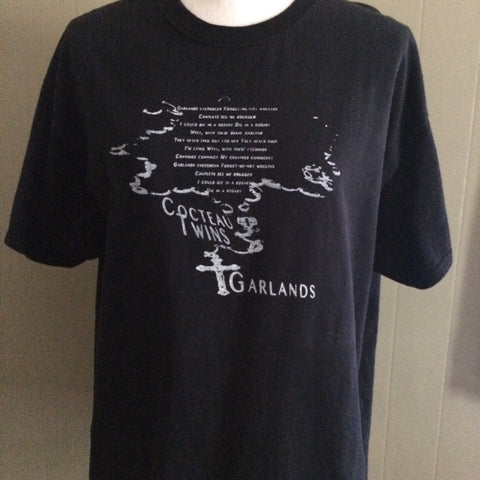 Cocteau Twins Black Tshirt XL