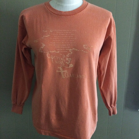 Cocteau Twins Orange Vintage SPF TShirt XS