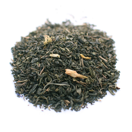Green Jasmine Tea. Organic and Fair Trade.