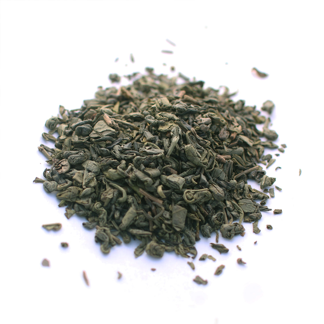 Green Tea: Gunpowder. Organic.