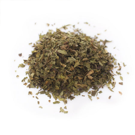 Spearmint tea.  Herbal, Organic.