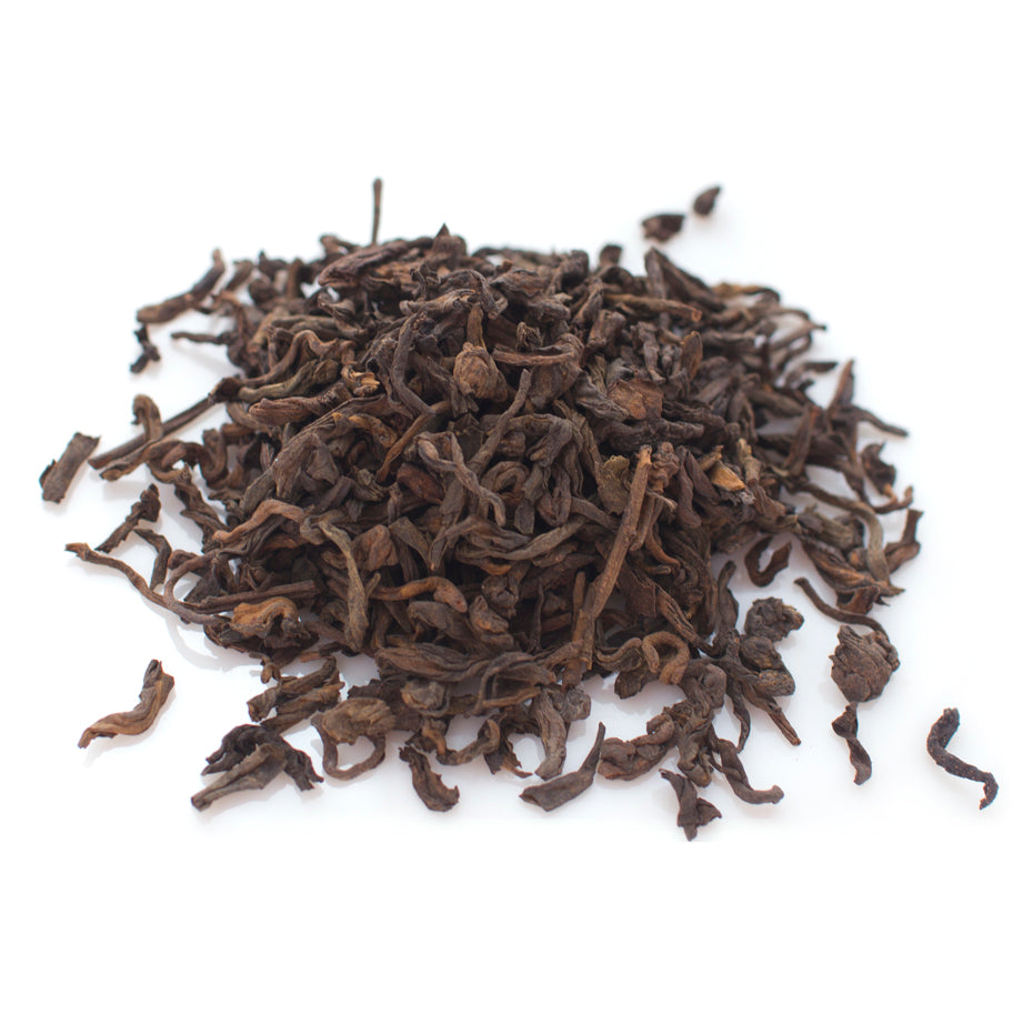 Pu-erh leaf. Organic & Fair Trade.