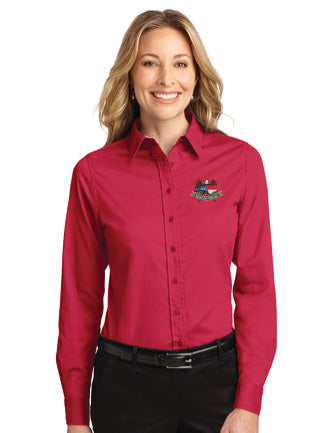 NCNGA Port Authority® Ladies Long Sleeve Easy Care Shirt