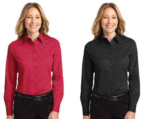 Unit Logo - Port Authority® Ladies Long Sleeve Easy Care Shirt
