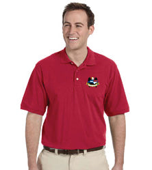 Port Authority® Mens Silk Touch™ Polo - NCNGA Logo