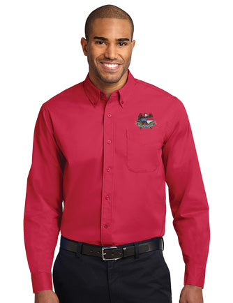 Men's NCNGA Port Authority® Long Sleeve Easy Care Shirt