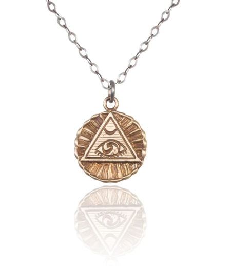 Cartography - Providence Necklace - Evil Eye of Protection