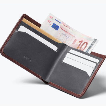 Bellroy - Hide & Seek Wallet HI - Red/Earth RFID