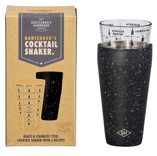 Gentlemen's Hardware - Bartender's Cocktail Shaker