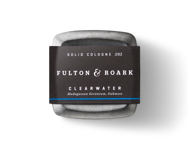 Fulton & Roark Clearwater Solid Cologne .2oz