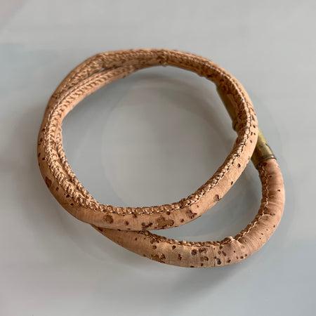 Tres Cuervos Flint Wood Bracelet - Natural