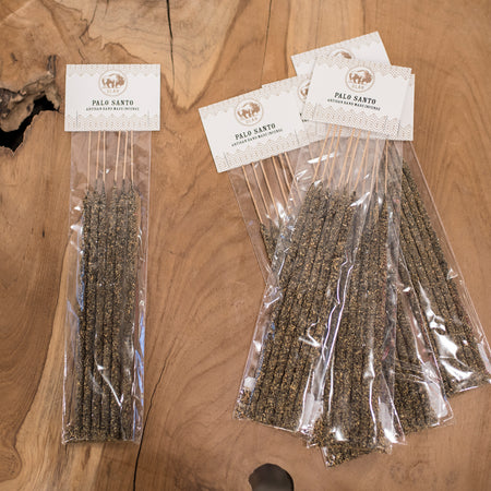 ULAH - Palo Santo - Hand Made Incense - 6 Pieces