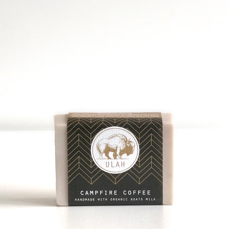 B Campfire Coffee Bar Soap