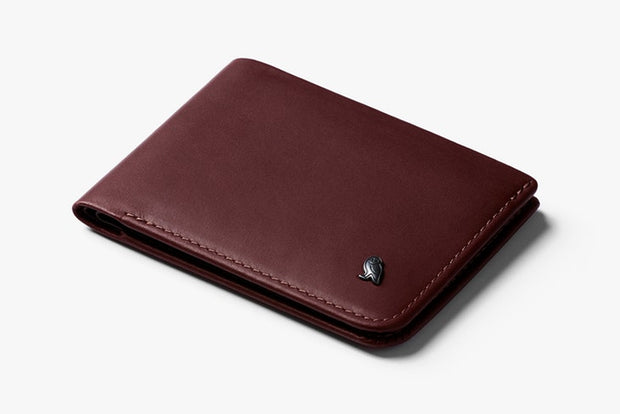 Bellroy Hide & Seek LO Wallet - Wine - RFID
